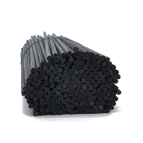 Uniharpa Reed Diffuser Fiber Sticks Set of 102 (Black)