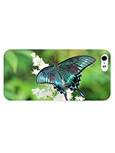 3d Full Wrap Case for iPhone 5/5s Animal Butterfly74