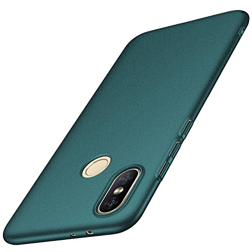 Anccer Xiaomi Mi A2 Case,Xiaomi 6X Case [Colorful Series] [Ultra-Thin] [Anti-Drop] Premium Material Slim Full Protection Cover for Xiaomi A2 (Gravel Green)