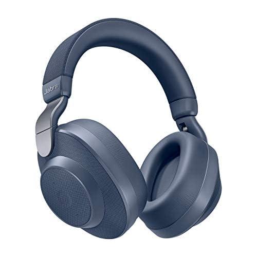 chollos oferta descuentos barato Jabra Elite Active 85h Auriculares Inalámbricos Over Ear Cancelación Activa de Ruido Batería de Larga Duración para Llamadas y Música Azul Marino