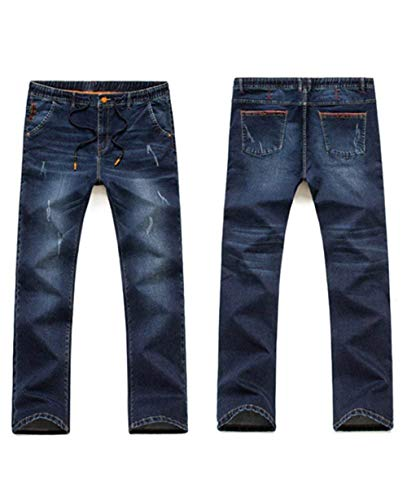 Pantaloni Casual Alsbild E Moda Denim T Uomo Giovane Stretch Super Pants Retro Jeans Da SP14qrwOS