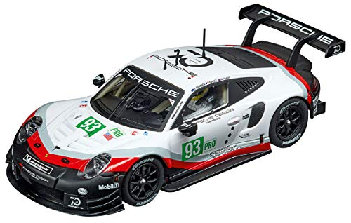Carrera Evolution 1: 32 Scale Analog Slot Car Racing Vehicle - 27607 Porsche 911 RSR #93 GT Team