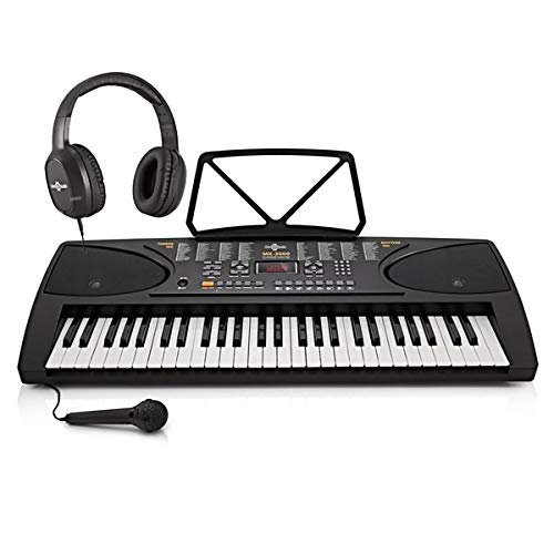 MK-3000 Key-Lighting Keyboard by Gear4music – Starter Pack