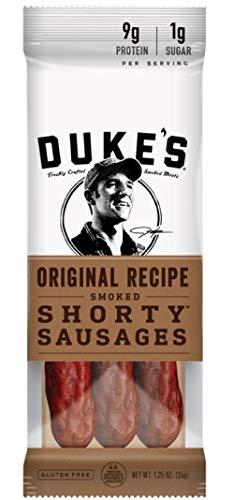 Original Sausage (Duke's Original Recipe Smoke Shorty Sausages, 12 Pack)