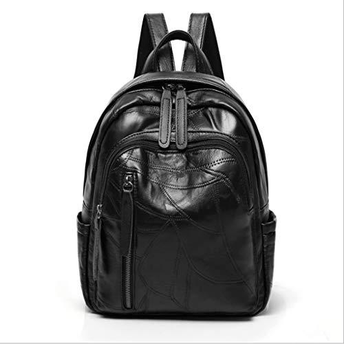 durevole colore per Fashion Backpack Hwjx Women viaggio impermeabile studenti A A e Messenger borsa qX1wpZwPW