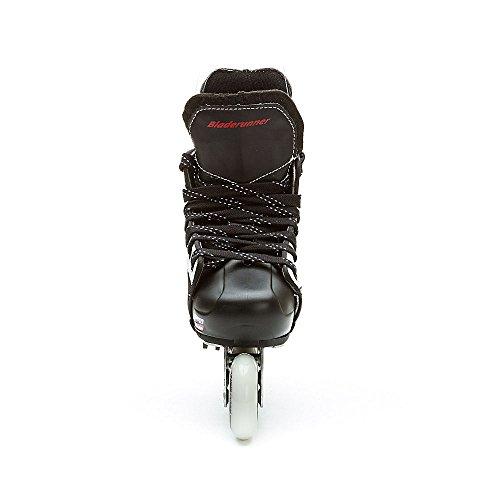 Bladerunner by Rollerblade Dynamo Jr Size Adjustable Hockey Inline Skate, Black and Red, Inline Skates by Bladerunner (Image #6)