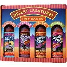 ASS KICKIN' Desert Creatures Hot Sauce (Gift Pack)