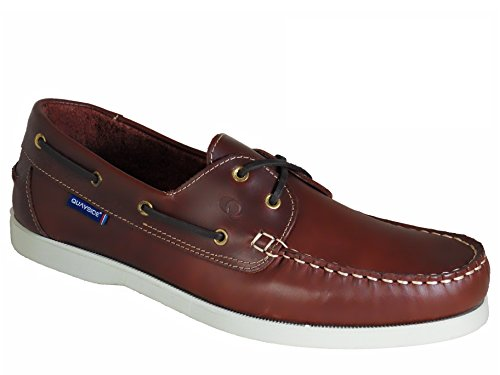 Deck Quayside Porto Shoes Ladies Leather Quality Chestnut 4wxO7ZnqzI