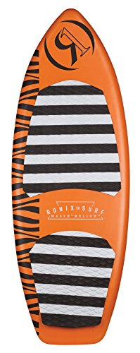 Ronix (Blemish Model) Marsh ''Mellow'' Thrasher Wakesurf Board - Orange Pineapple Express - 5'2'' (2018) by Ronix