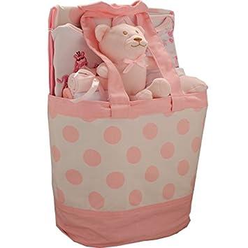 9 Stuck Luxus Tasche Baby Geschenk Set Madchen Pink 0 3 Monate
