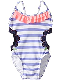 Baby Girls' Girl's Upf 50 Cutout Swimsuit