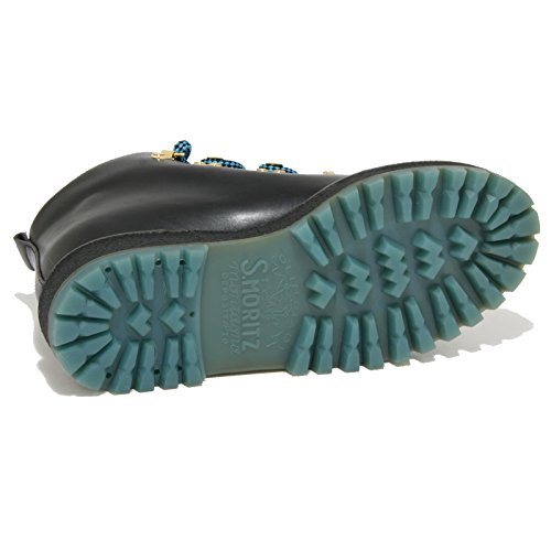PULL UP TREKKING stivaletto donna nero women scarponcino SHOE boots Nero CAR 1756O BpnOtx