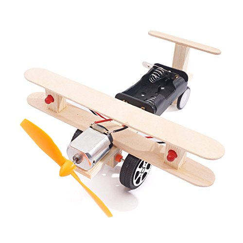 TommoT Airplane Model Handicraft(Taxiing) Building Toys,Wooden Assembly Model Kits from TommoT