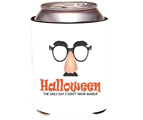 Rikki Knight Halloween Makeup Design Drinks Cooler Neoprene Beverage Insulators Huggers