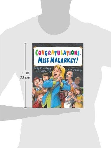 Congratulations, Miss Malarkey!: Judy Finchler, Kevin O'Malley ...