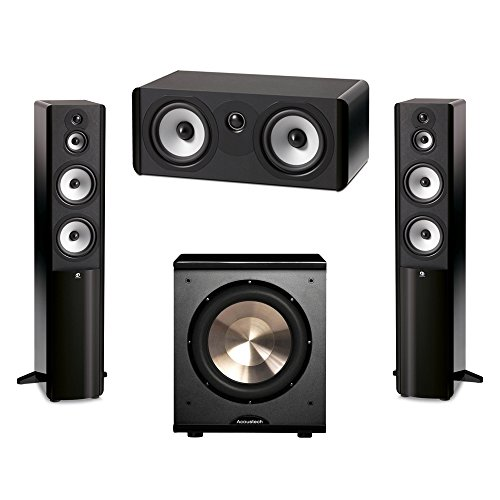 Boston Acoustics 3.1 System with 2 A360 Floorstanding Speakers, 1 A225C Center Channel Speaker, 1 BIC/Acoustech Platinum Series