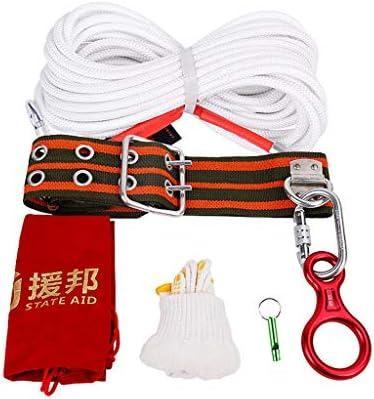 MEI XUクライミングロープ 家庭用消防救助ロープの脱出ライフライン安全防火用4ピーススーツマルチレングスオプション (サイズ さいず : 100m)