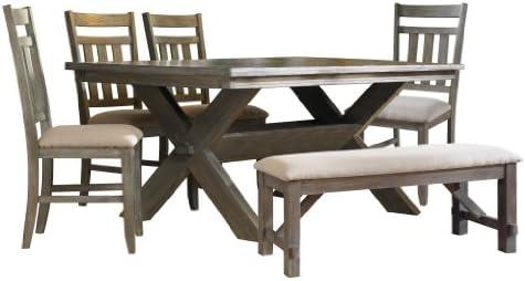 Powell Turino Dining Set, 6-Piece