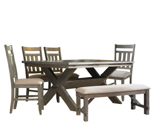 Powell Turino Dining Set, 6-Piece