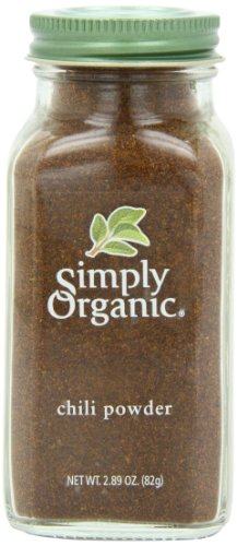 Simply Organic Chili Powder Certified Organic, 2.89-Ounce Container (Simply Chili)