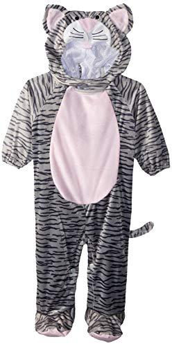 Fun World Kid's Little Stripe Kitten Infant Costume Baby Costume, Multi, -