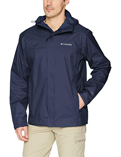 Hoodies Zip Over Face - Columbia Men's Watertight Ii Jacket, Collegiate Navy, X-Large