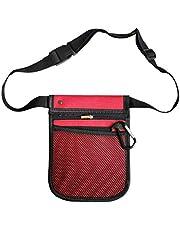 Nurse Extra Pocket Pouch Quick Pick Portable Waist Purse Bag 2 Sided - 8 Pocket Long Adjustable Belt Nurse Tool Bag