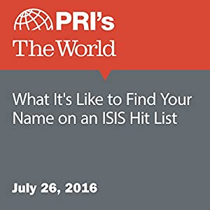 What It's Like to Find Your Name on an ISIS Hit List
