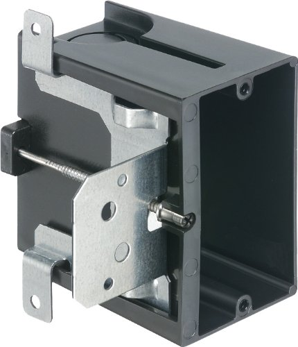 Arlington Industries FA101 1-Gang Adjustable Outlet Mount Box, 25-Pack