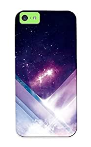 OqxHwnM1004itqAx Improviselike Awesome Case Cover Compatible With Iphone 5c - Violet Stripes In Cosmos