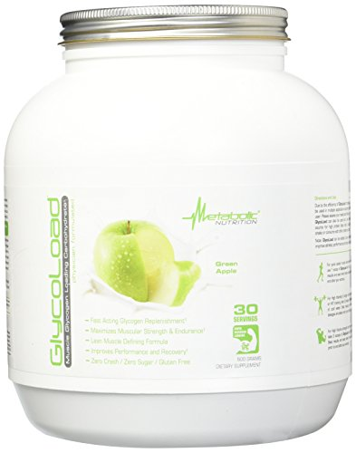 Metabolic Maintenance Glycoload 30 Servings Energy Powder, Green Apple, 600 Gram For Sale