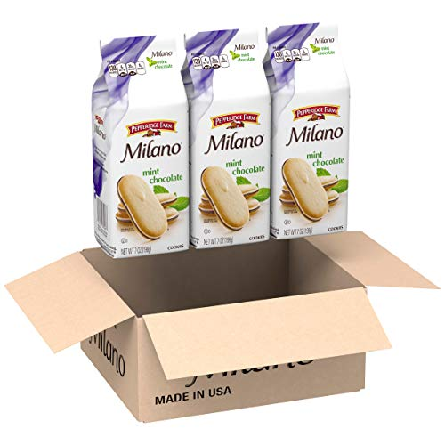 Pepperidge Farm, Milano, Cookies, Mint, 7.0 oz, Bag, 3-count