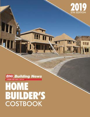 Pdf Home BNi Building News Home Builder's Costbook 2019