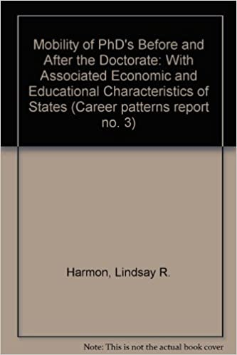 New Report Economic Mobility State Of >> Mobility Of Phd S Before And After The Doctorate With Associated