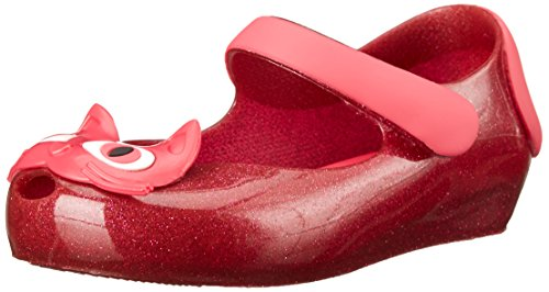 Mini Melissa Ultragirl II Mary Jane Flat (Toddler), Pink Glitter, 8 M US Toddler by Mini Melissa