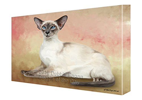 Thai Cat Canvas Wall Art (36x48) by Doggie of the Day
