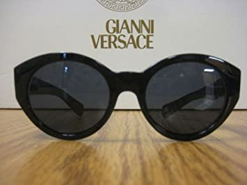 2ef177d8d9 Amazon.com  VERSACE VINTAGE(90 s) SUNGLASSES MOD 463 BLACK  Health ...