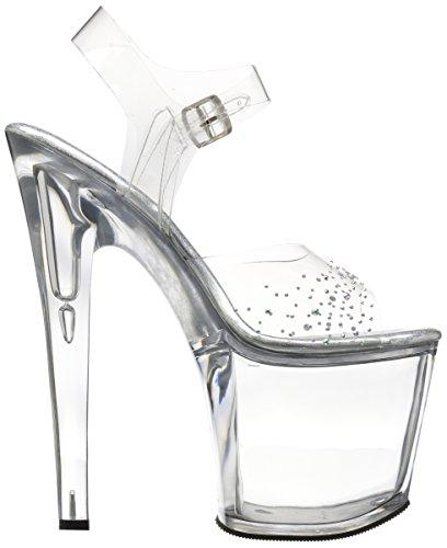 Clr Taboo 708sd Women's Clr Pleaser Clr Sandal Clr ETxAwq5Xq
