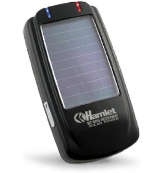 Hamlet HBTGPSOL BT Solar GPS Bluetooth GPS Receiver: Amazon ...