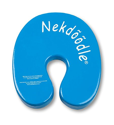 Head Float - Nekdoodle Swimming Pool Float For Aqua Aerobics & Fitness - Water Training & Exercises - Fun & Recreational Pool Toy - Fits Adults and Kids - Blue