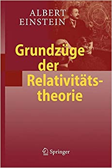 Descargar Libro Origen Grundzüge Der Relativitätstheorie Leer Formato Epub