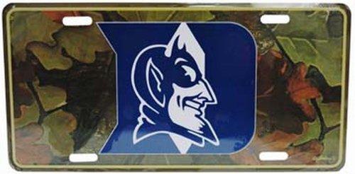 NCAA Duke Blue Devils Car License Plate (Duke Blue Devils License Plate)