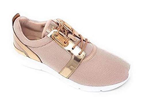 MICHAEL Michael Kors Amanda Mesh Trainer Sneaker, Soft Pink (9.5)