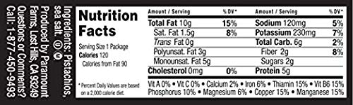 Wonderful Pistachios, Roasted and Salted, 1.5 Ounce (Pack of 24) - 2 Pack by Wonderful Pistachios & Almonds (Image #3)