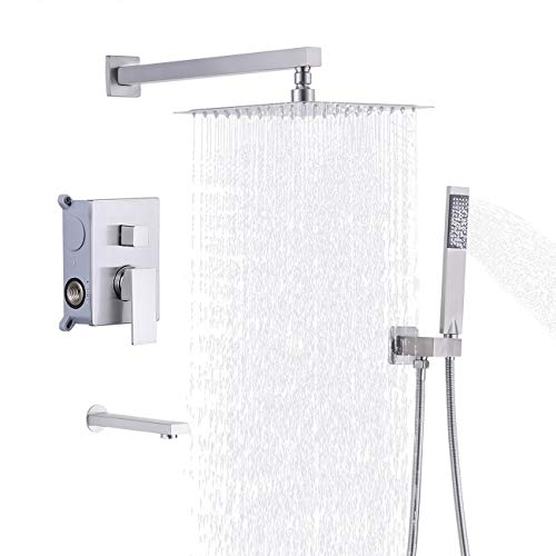 tub and shower faucet combo - 6