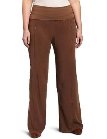 Fresh Laundry Women's Plus-Size Tencel Pant, Desert, 1X