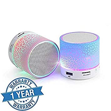 Ecom Delhimart Portable Bluetooth Speakers (Assorted Colour)