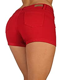 Amazon.com: Red - Denim / Shorts: Clothing, Shoes & Jewelry