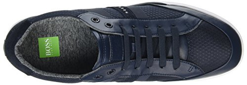 Boss Athleisure Herren Shuttle_tenn_tech Sneaker Blau (blu Scuro)