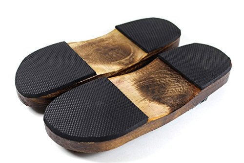 Flip Geta M Casual Shoes Men Flops Japanese Sandals Slippers Size Lovely Wooden Clogs SESIPqxA